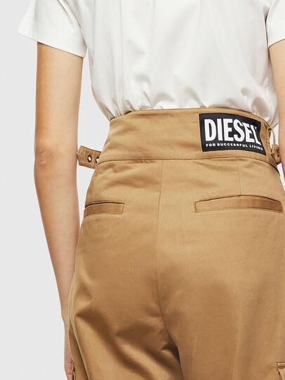 Diesel - P-CHIKU, Light Brown - Pants - Image 6