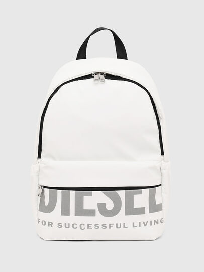 Diesel - F-BOLD BACK FL II, White - Backpacks - Image 1