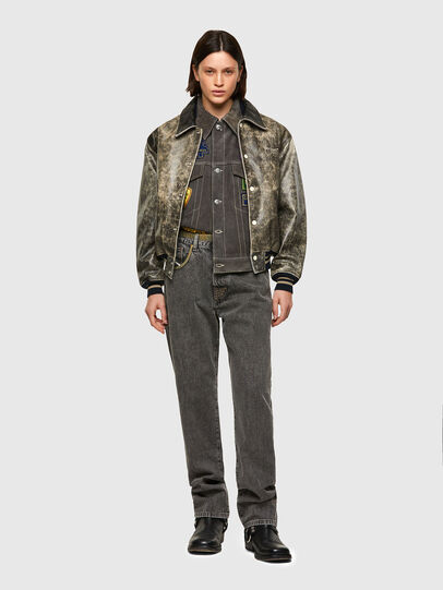 Diesel - DxD-2, Black - Leather jackets - Image 9