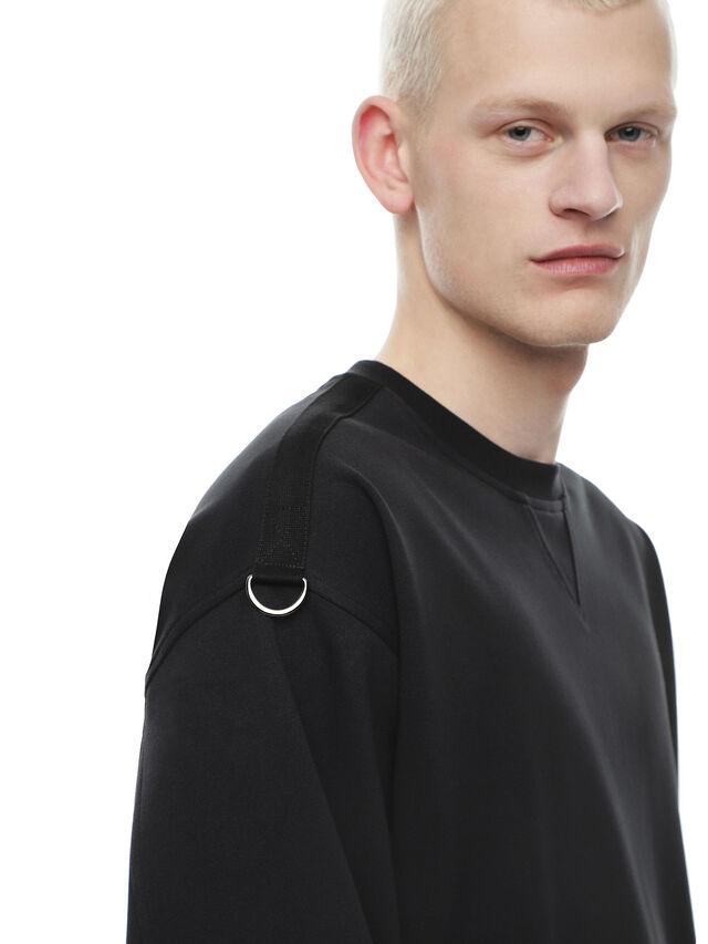 Diesel - FOBOH, Black - Sweaters - Image 4