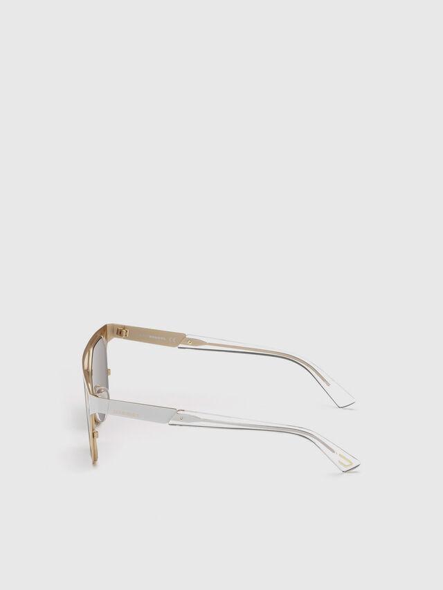 Diesel - DL0249, White - Sunglasses - Image 3