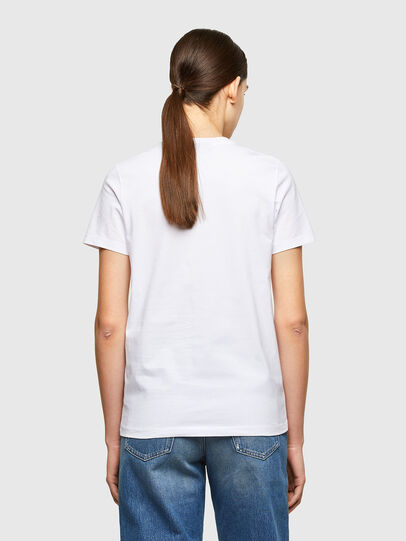 Diesel - T-SILY-K8, White - T-Shirts - Image 2