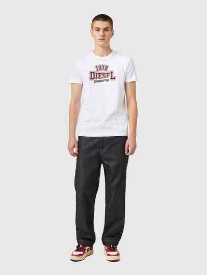 Diesel - T-DIEGOS-K26, White/Red - T-Shirts - Image 4