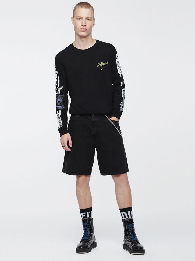 Diesel - D-WILLOH, Black - Shorts - Image 4