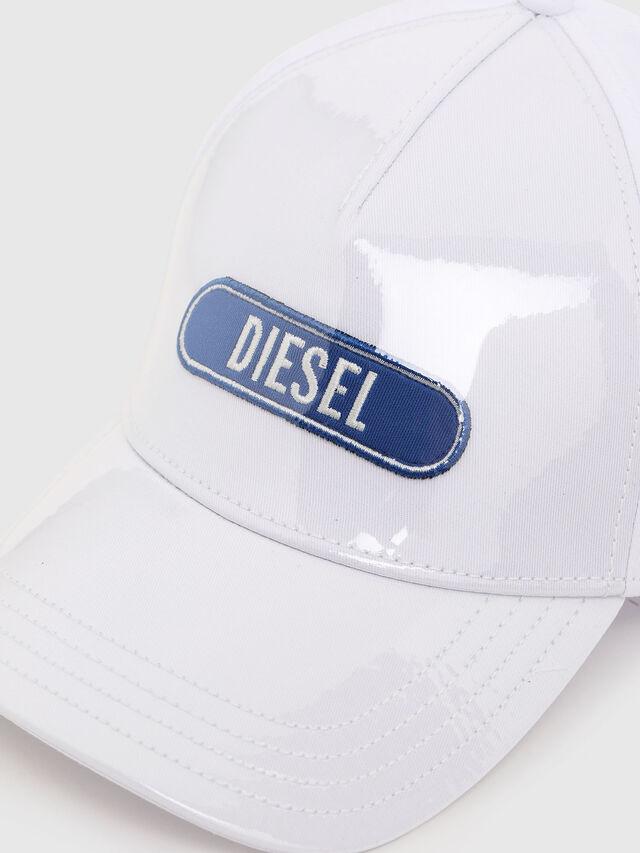 Diesel - C-TRASPY, White - Caps - Image 3