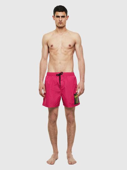 Diesel - BMBX-WAVE 2.017, Pink - Swim shorts - Image 1