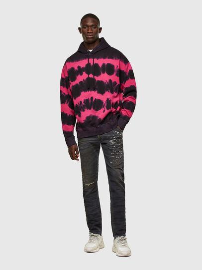 Diesel - Krooley JoggJeans® 069SX, Black/Dark grey - Jeans - Image 5