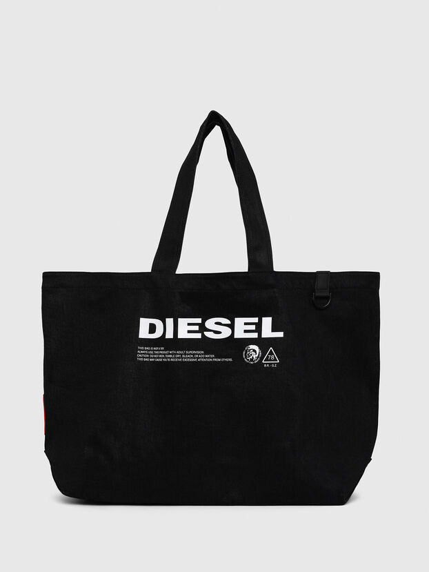 D-THISBAG SHOPPER L, Black - Shopping and Shoulder Bags
