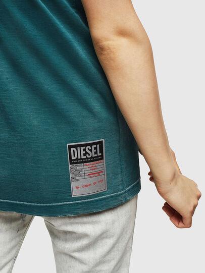 Diesel - T-FLAVIA-IC, Blue - T-Shirts - Image 5