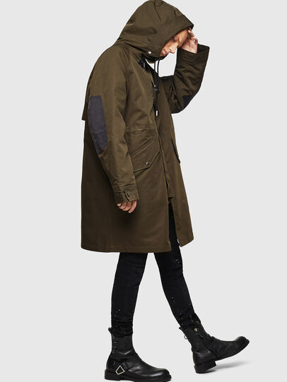 Diesel - W-KOBEC, Military Green - Winter Jackets - Image 7
