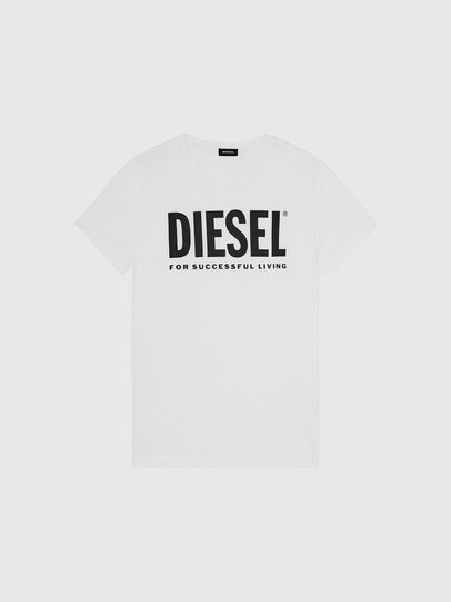 Diesel - T-SILY-WX, White - T-Shirts - Image 1