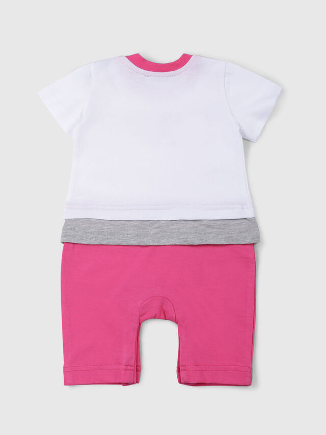 Diesel - JEKKY-NB, White/Pink - Jumpsuits - Image 2