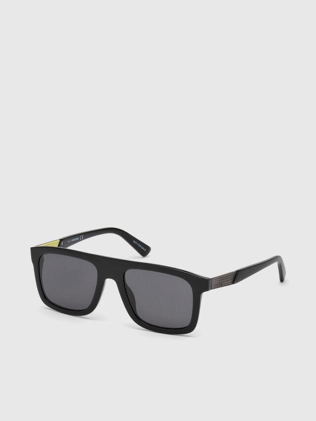 Diesel - DL0268, Black - Eyewear - Image 2