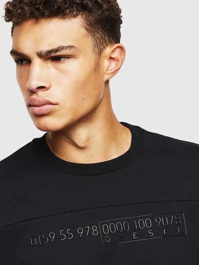 Diesel - S-CORY, Black - Sweaters - Image 3