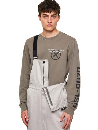 Diesel - P-JUMP-A, Light Grey - Pants - Image 4