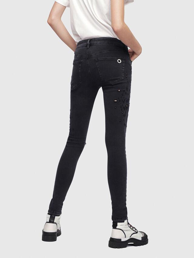 Diesel - Slandy 085AW, Black/Dark grey - Jeans - Image 2