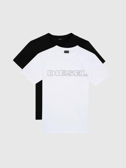 Diesel - UMLT-JAKE TWOPACK, Black/White - Tops - Image 1