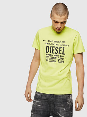T-DIEGO-B6, Yellow Fluo - T-Shirts