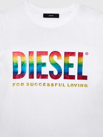 Diesel - BFOWT-SILY-P, White - T-Shirts - Image 3