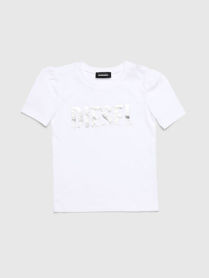 Diesel - TRALLYB-R, White - T-shirts and Tops - Image 1