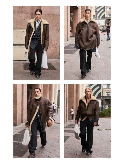 Diesel - GMLT01,  - Leather jackets - Image 3