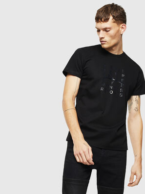 T-DIEGO-J8, Black - T-Shirts