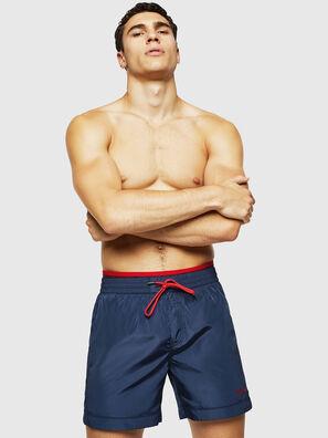 BMBX-DOLPHIN, Dark Blue - Swim shorts