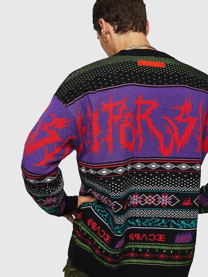 Diesel - K-CHILL, Multicolor/Black - Knitwear - Image 2