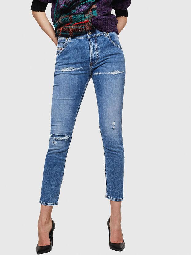 Krailey JoggJeans 069IH, Light Blue - Jeans