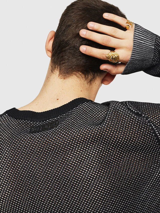 Diesel - K-NEST, Black - Knitwear - Image 3