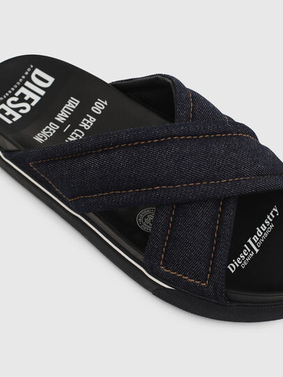 Diesel - SA-GRAND X, Blue Jeans - Sandals - Image 4