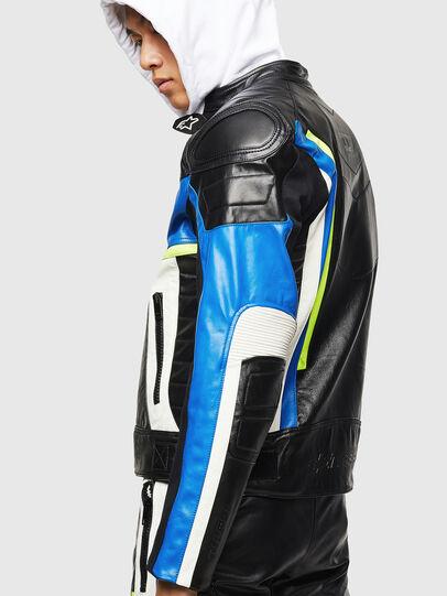 Diesel - ASTARS-LDUE, Black - Leather jackets - Image 6