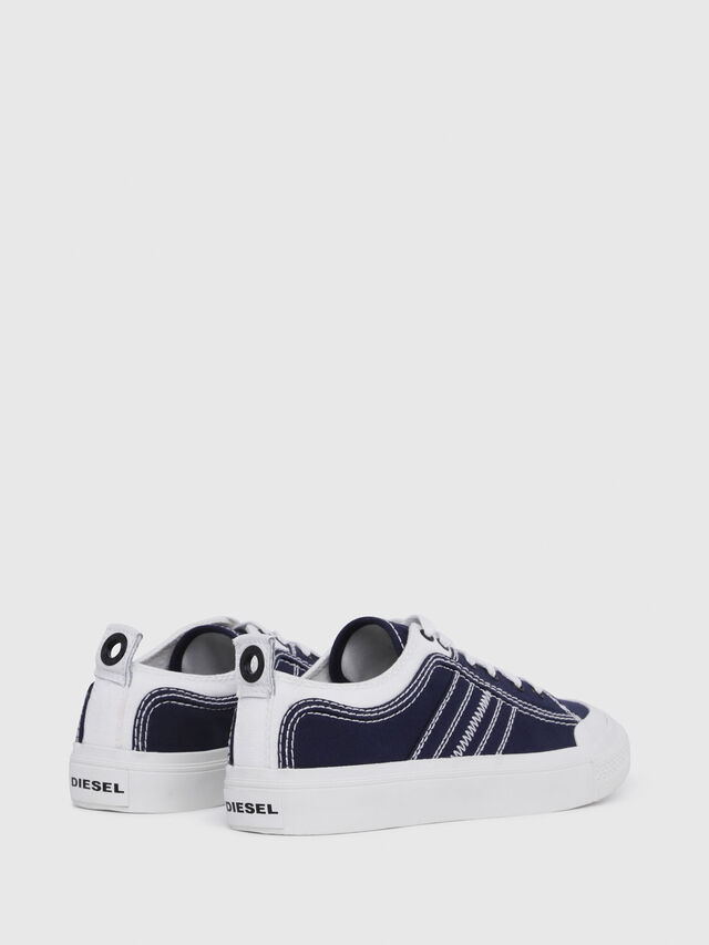 Diesel - S-ASTICO LOW LACE W, Blue/White - Sneakers - Image 3