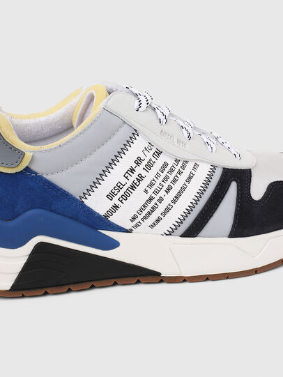 Diesel - S-BRENTHA FLOW, Grey/Blue - Sneakers - Image 5