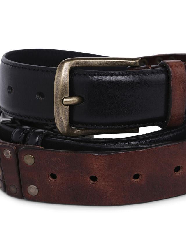 Diesel - GMBELT3, Black/Brown - Belts - Image 4