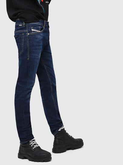 Diesel - Thommer 082AY, Dark Blue - Jeans - Image 5