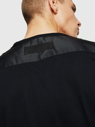 Diesel - T-JUST-LS-BX3, Black - T-Shirts - Image 5