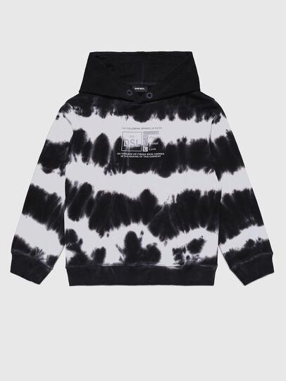 Diesel - SUMMERA83 OVER, Black/White - Sweaters - Image 1