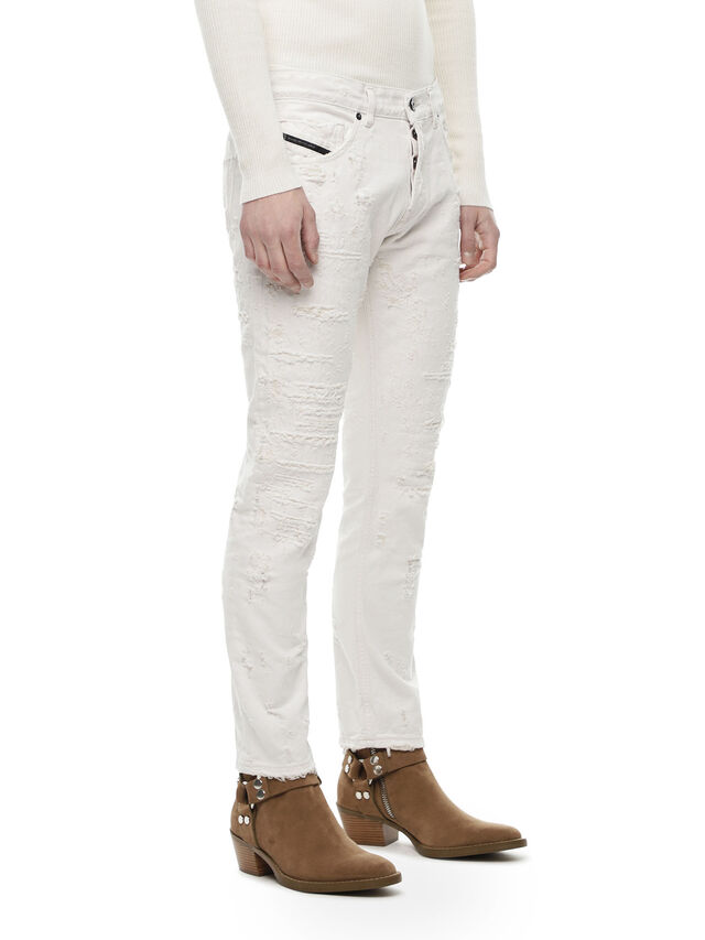 Diesel - TYPE-2813FS, White - Jeans - Image 3
