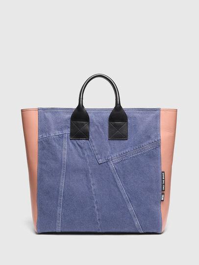 Diesel - LEENA L, Blue/Pink - Shopping and Shoulder Bags - Image 1