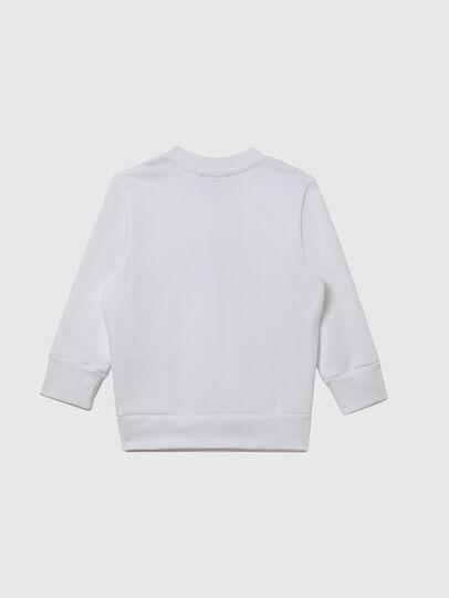 Diesel - SGIRKX5B-R, White - Sweaters - Image 2