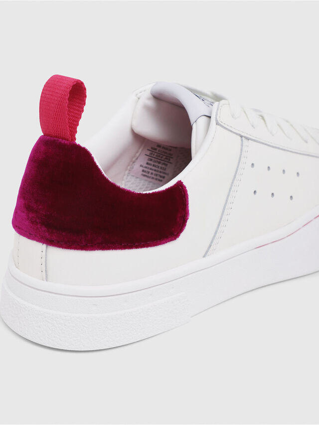 Diesel - S-CLEVER LOW W, White/Red - Sneakers - Image 4