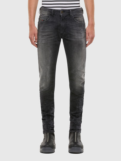 Diesel - Thommer 009IU, Black/Dark grey - Jeans - Image 1