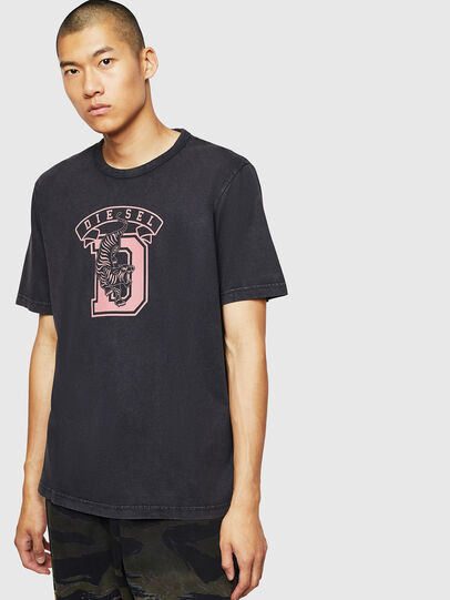 Diesel - T-JUST-B2, Black - T-Shirts - Image 1