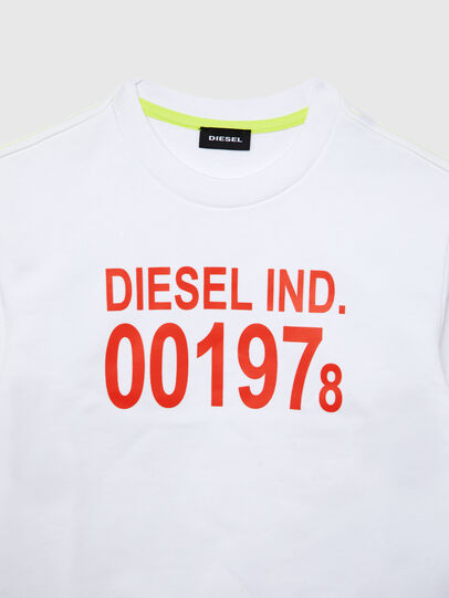 Diesel - SGIRKJ3 OVER, White - Sweaters - Image 2