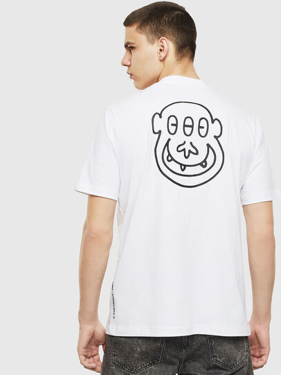 Diesel - T-JUST-T28, White - T-Shirts - Image 2