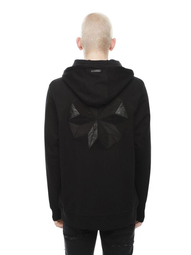 Diesel - SNEILBOOD-PATCHWORK, Black - Sweaters - Image 2