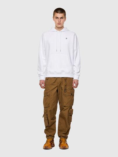 Diesel - S-KRIB-HOOD-ROMOHI, White - Sweaters - Image 4