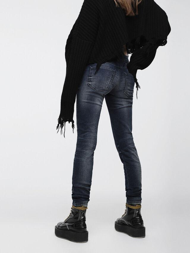 Diesel Gracey JoggJeans 0686W, Dark Blue - Jeans - Image 2