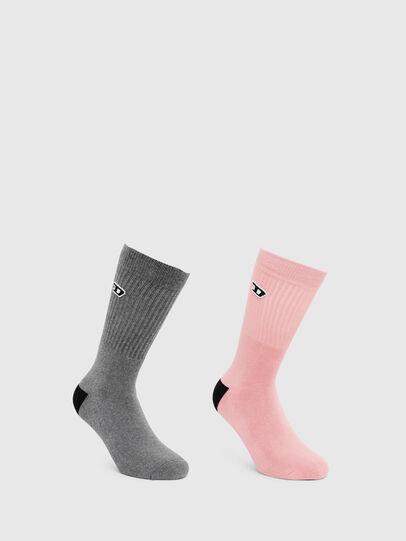 Diesel - SKM-RAY-TWOPACK, Grey - Socks - Image 1